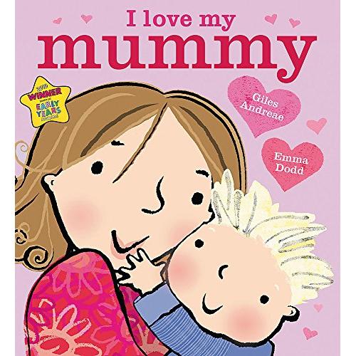 I love my mummy board book