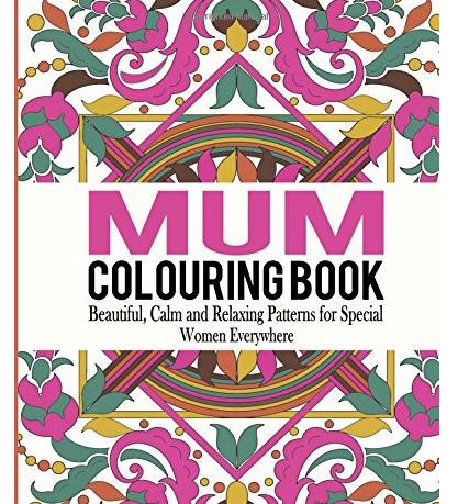 Mum Colouring Book