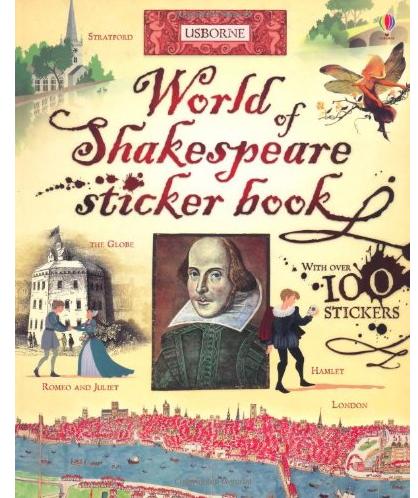 WorldofShakespeareStickerBook