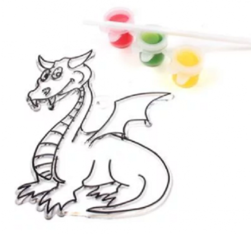 Hobbycraft Dragon Suncatcher