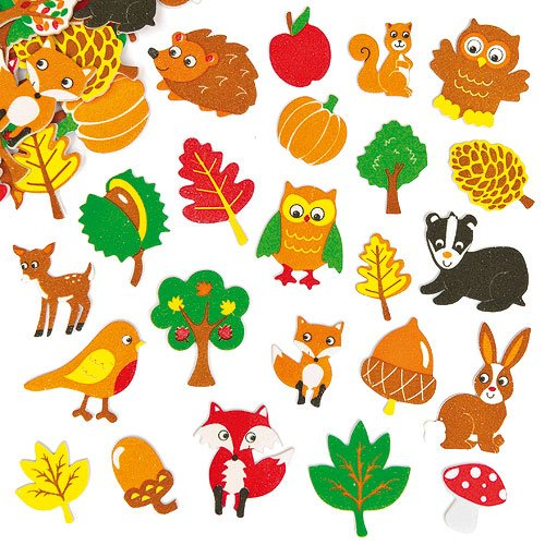 Woodland Friends Foam Stickers