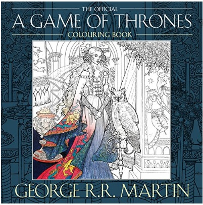 Game of Thrones colouring IN