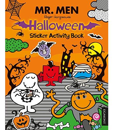 Mr Men Halloween Sticker Book